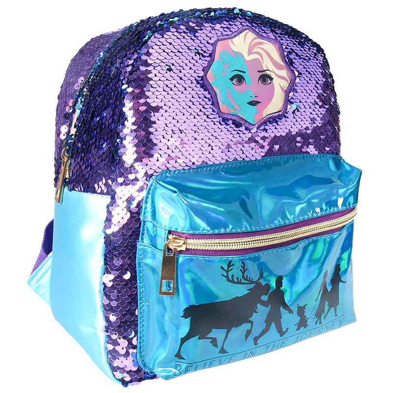 Mochila lentejuelas Frozen 2 Disney 26cm LA CASITA DE DUMBO
