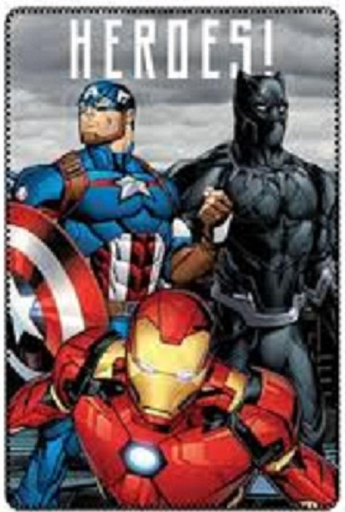 Manta Polar Avengers Marvel 100x150cm. LA CASITA DE DUMBO