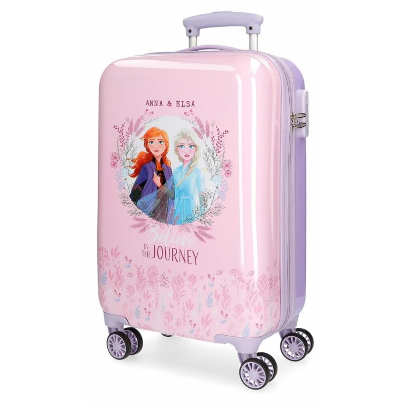 maleta cabina frozen 2 rigida 55 cm