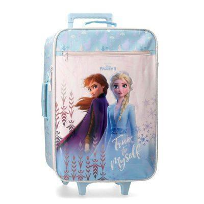 maleta de cabina frozen true to myself 50 cm