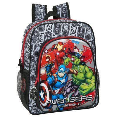 Mochila Vengadores Avengers Heroes Marvel Adap. 32x38x12cm