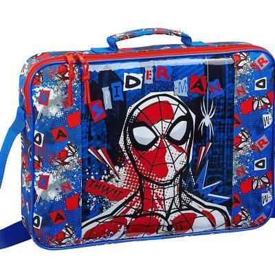 cartera extraescolares spiderman marvel