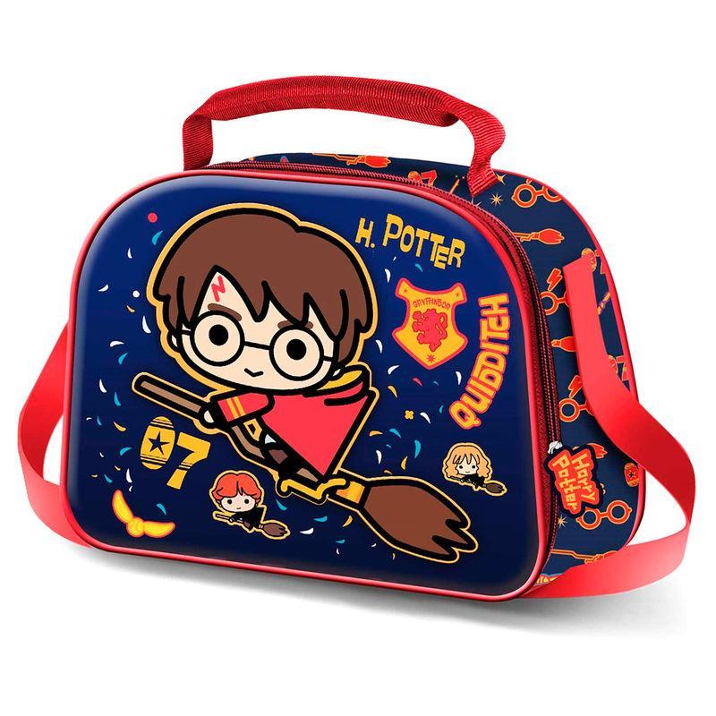 Bolsa portameriendas 3D Quidditch Harry Potter