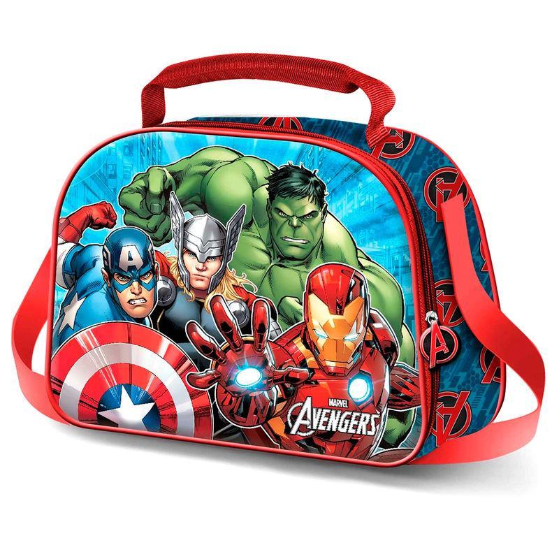 Bolsa portameriendas 3D Vengadores Avengers LA CASITA DE DUMBO