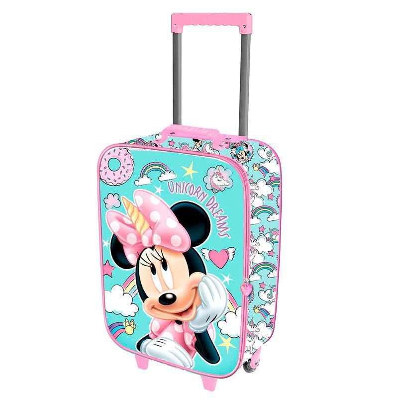 Maleta trolley 3D Minnie Unicorn Disney 52cm LA CASITA DE DUMBO