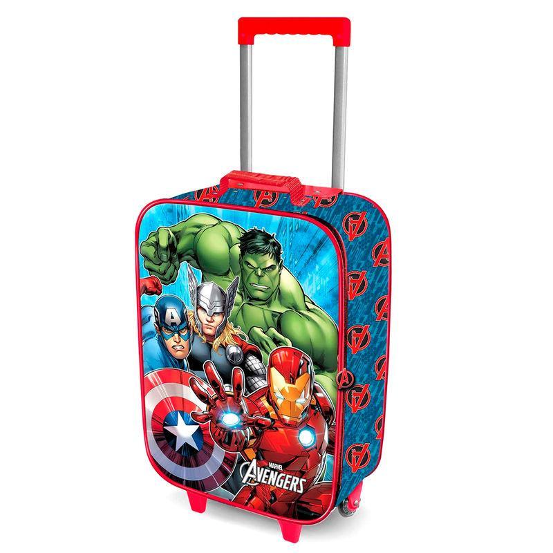 Maleta trolley 3D Vengadores Avengers Marvel 52cm LA CASITA DE DUMBO