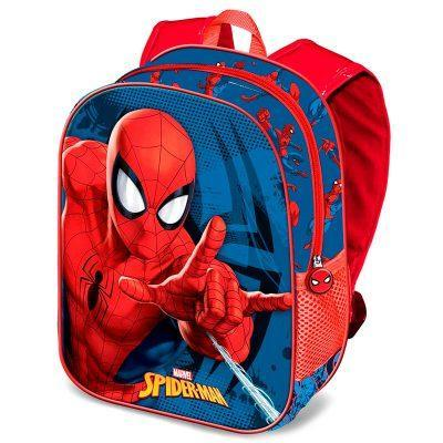 Mochila 3D Spiderman Marvel 31cm la casita de dumbo