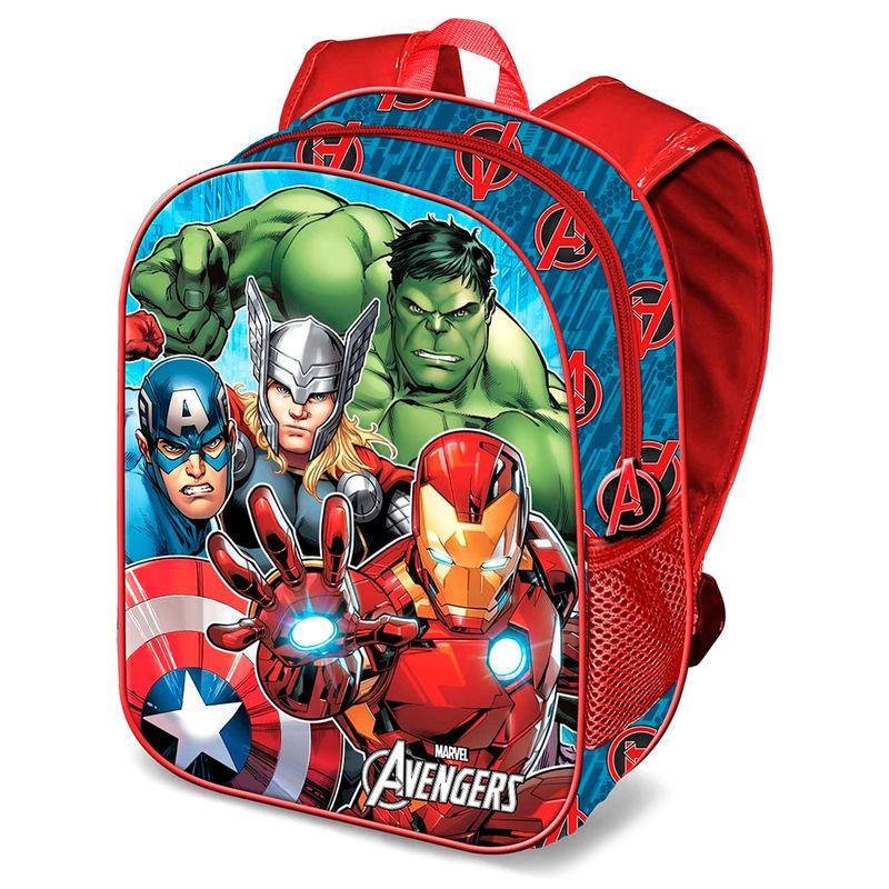Mochila 3D Vengadores Avengers Marvel 31cm LA CASITA DE DUMBO