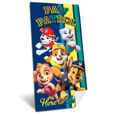 Toalla Patrulla Canina Paw Patrol microfibra AZUL LA CASITA DE DUMBO