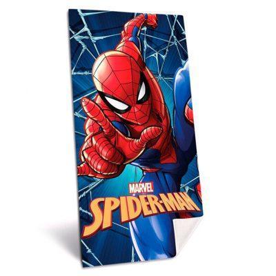 Toalla Spiderman Marvel microfibra azul la casita de dumbo