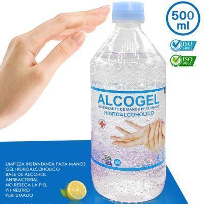 Alcogel, gel hidroalcoholico de manos 500ml LA CASITA DE DUMBO