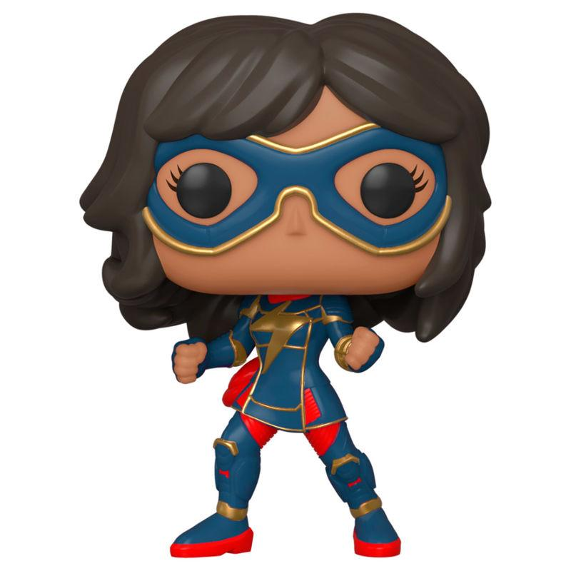 Figura POP Marvel Avengers Game Kamala Khan Stark Tech Suit la casita de dumbo