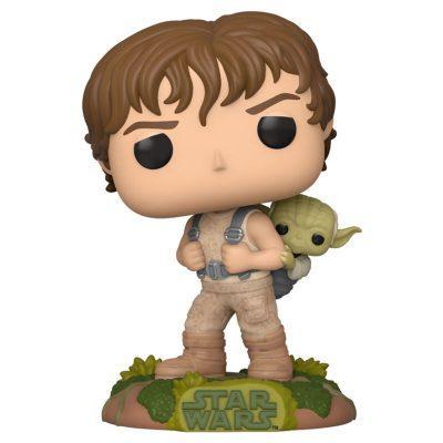 Figura POP Star Wars Training Luke with Yoda la casita de dumbo