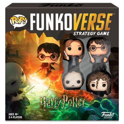 uego mesa POP Funkoverse Harry Potter 4fig Español la casita de dumbo