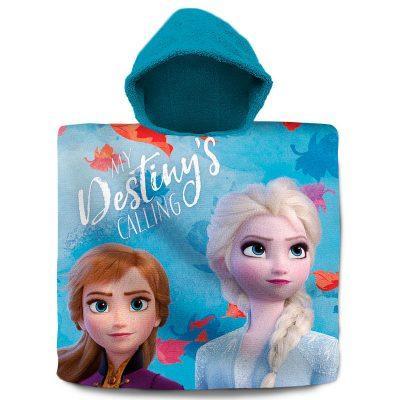 Poncho toalla Frozen 2 Disney algodón la casita de dumbo
