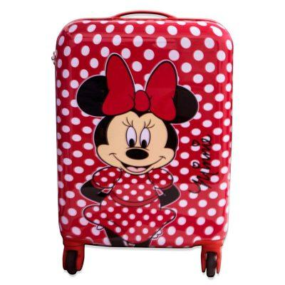 Maleta trolley ABS Minnie Disney 4r 48cm la casita de dumbo