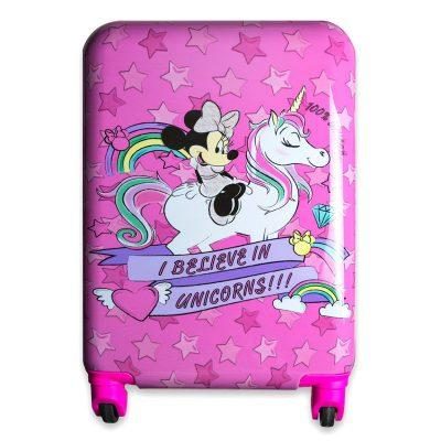 Maleta trolley ABS Minnie Disney 4r 48cm unicornio la casita de dumbo