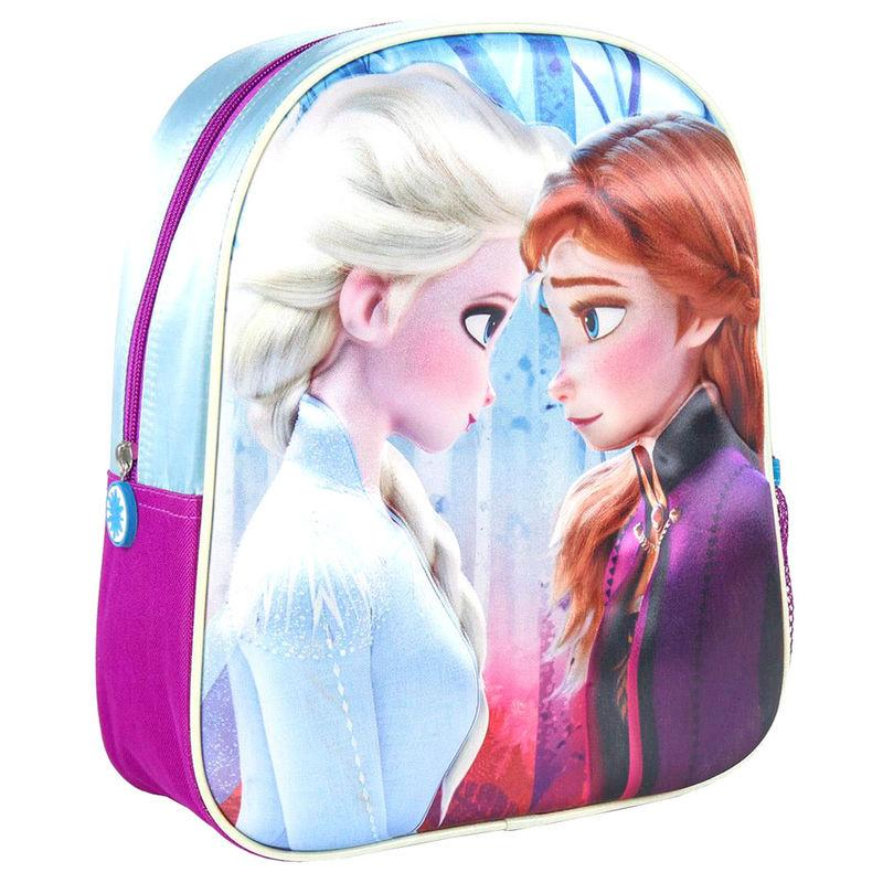 Mochila 3D Frozen 2 Disney 31cm fucsia la casita de dumbo