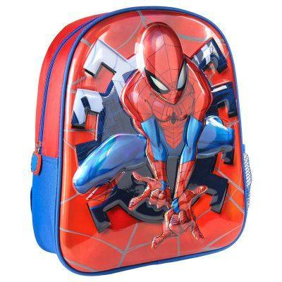 Mochila 3D premium Spiderman Marvel 31cm LA CASITA DE DUMBO