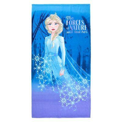 Toalla Elsa Frozen 2 Disney microfibra Azul la casita de dumbo