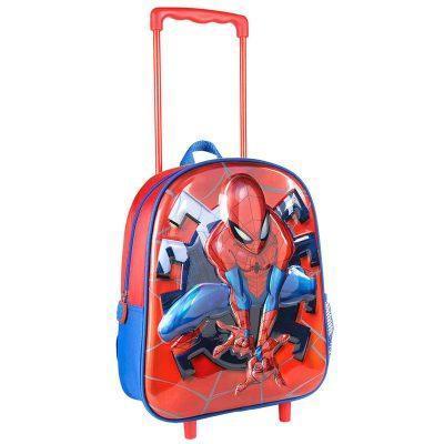 Trolley 3D premium Spiderman Marvel 31cm la casita de dumbo