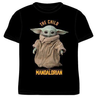 CAMISETA YODA THE CHILD THE MANDALORIAN STAR WARS ADULTO negrala casita de dumbo