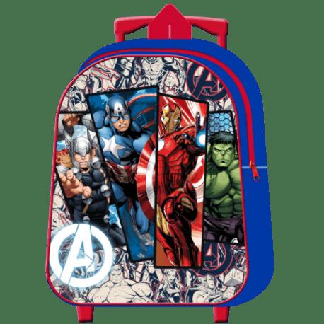 Mochila Avengers Marvel Infantil Con Carro 30cm. LA CASITA DE DUMBO