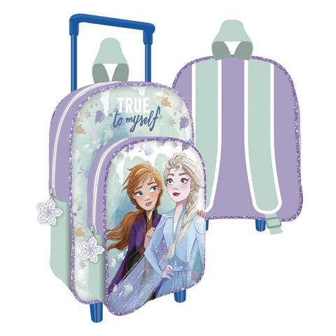 Mochila Con Carro Infantil Frozen Disney ll la casita de dumbo