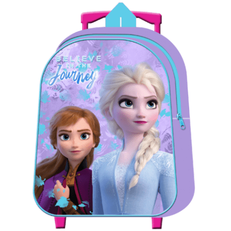 Mochila Frozen Disney ll Infantil Con Carro 30cm. la casita de dumbo