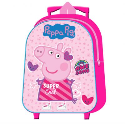Mochila Peppa Pig Infantil Carro 30cm. la casita de dumbo