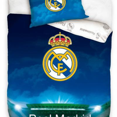 Funda Nordica Real Madrid y Almohada 140x200 - 70x80cm.