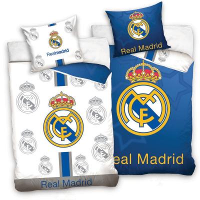 unda Nordica Real Madrid y Almohada 140x200 - 70x80cm. REVERSIBLE