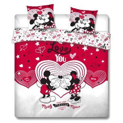 Funda nordica Love Mickey and Minnie Disney cama 135cm la casita de dumbo