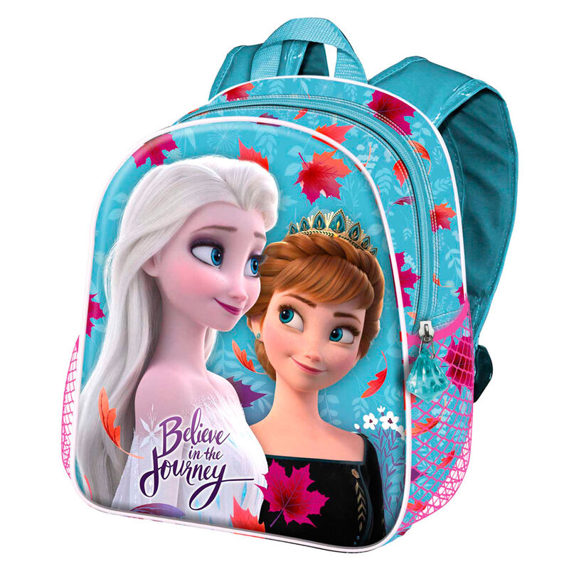 Mochila 3D Frozen 2 Disney 31cm azul la casita de dumbo