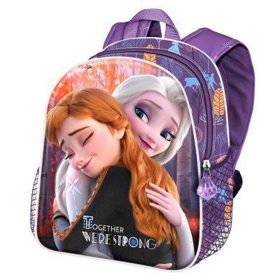Mochila 3D Frozen 2 Disney 31cm malva la casita de dumbo