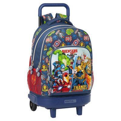 Mochila Compact Avengers Marvel Carro Extraible
