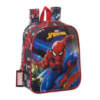 Mochila Guarderia Spiderman Marvel la casita de dumbo