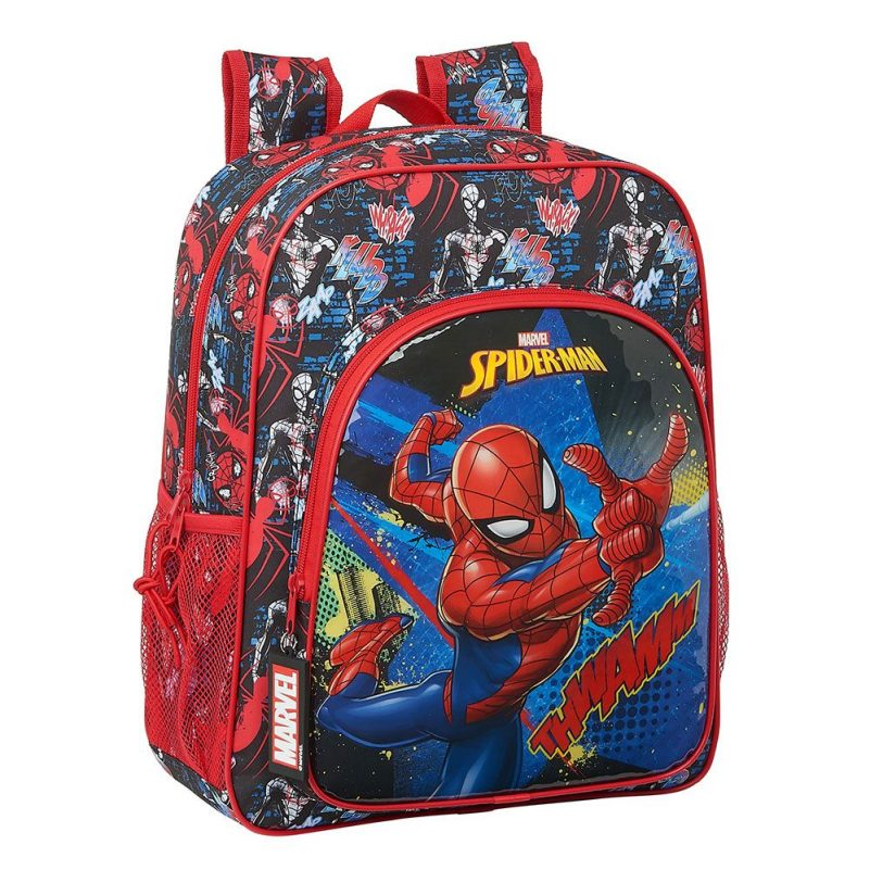 Mochila Junior Spiderman Marvel Adaptable la casita de dumbo