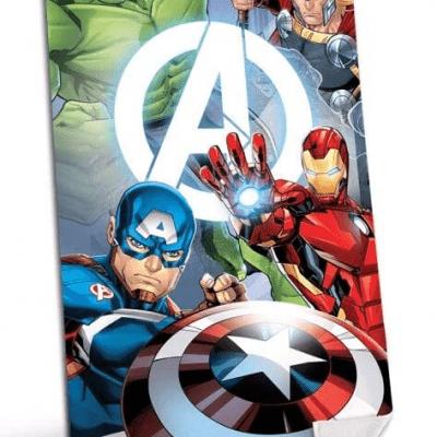 Toalla Avengers Marvel Microfibra escudo la casita de dumbo