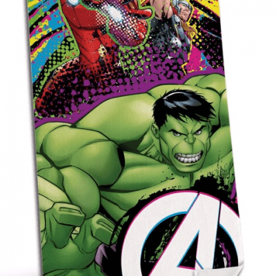 Toalla Avengers Marvel Microfibra la casita de dumbo