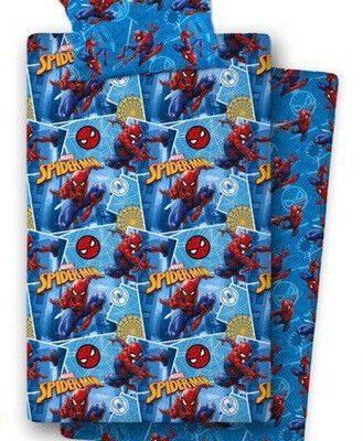 Juego sabanas para cama 90cm de Spiderman a casita de dumbo