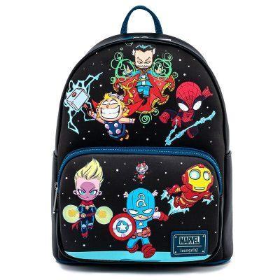 Mochila Personajes Marvel Loungefly moda infantil el nomo