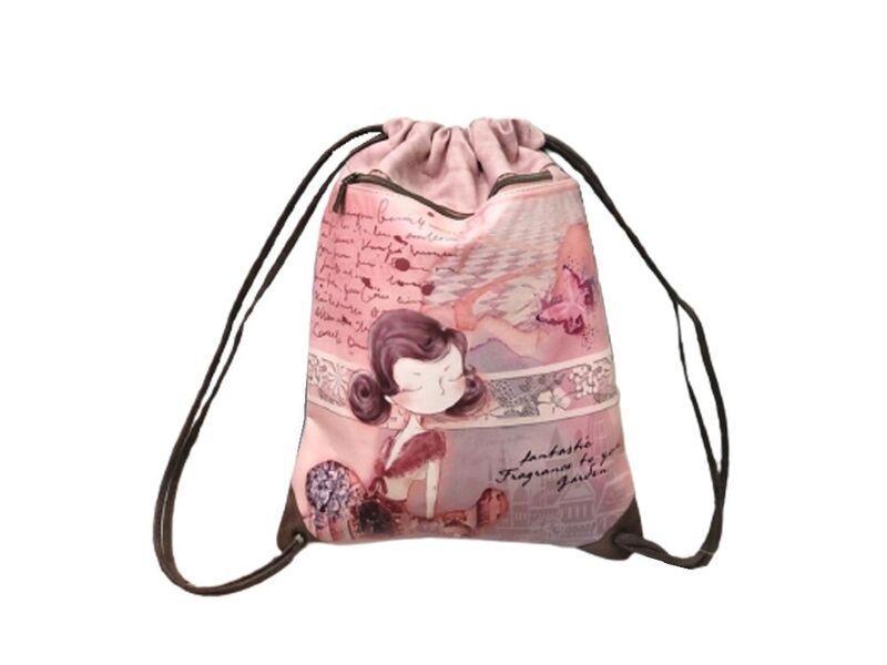 Bolsa Saco Cordones deSweet Candy Rose la casita de dumbo