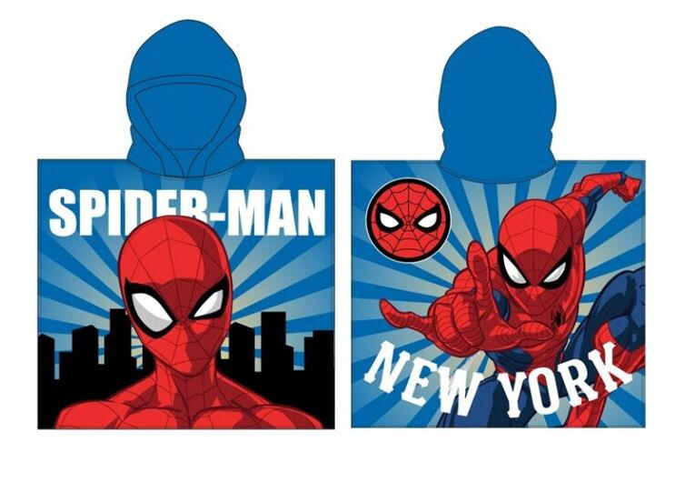 Poncho toalla playa microfibra Spiderman la casita de dumbo