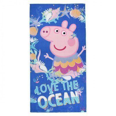 Toalla MicrofibraPeppa Pig Love The Ocean la casita de dumbo