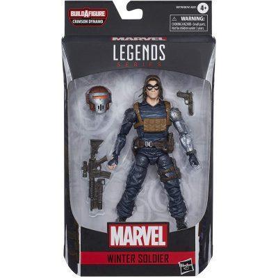 Figura Soldado De Invierno Black Widow Marvel Legends 15cm LA CASITA DE DUMBO