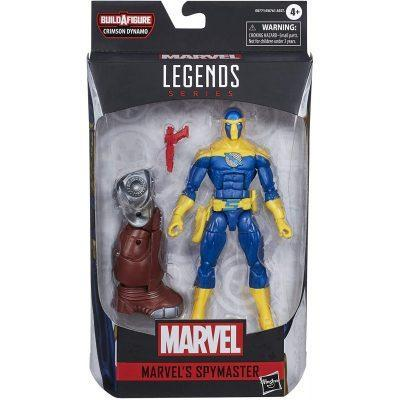 Figura Spymaster Black Widow Marvel Legends 15cm la casita de dumbo