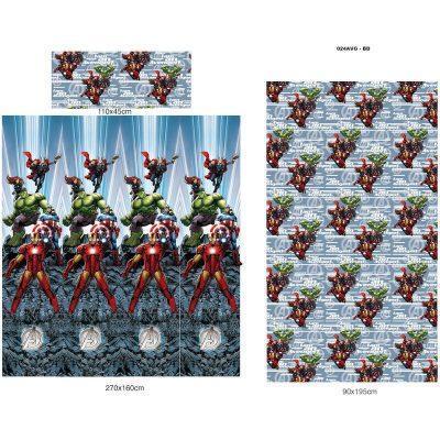 Juego Sabanas VengadoresAvengers Marvel Microfibra 105 cm la casita de dumbo