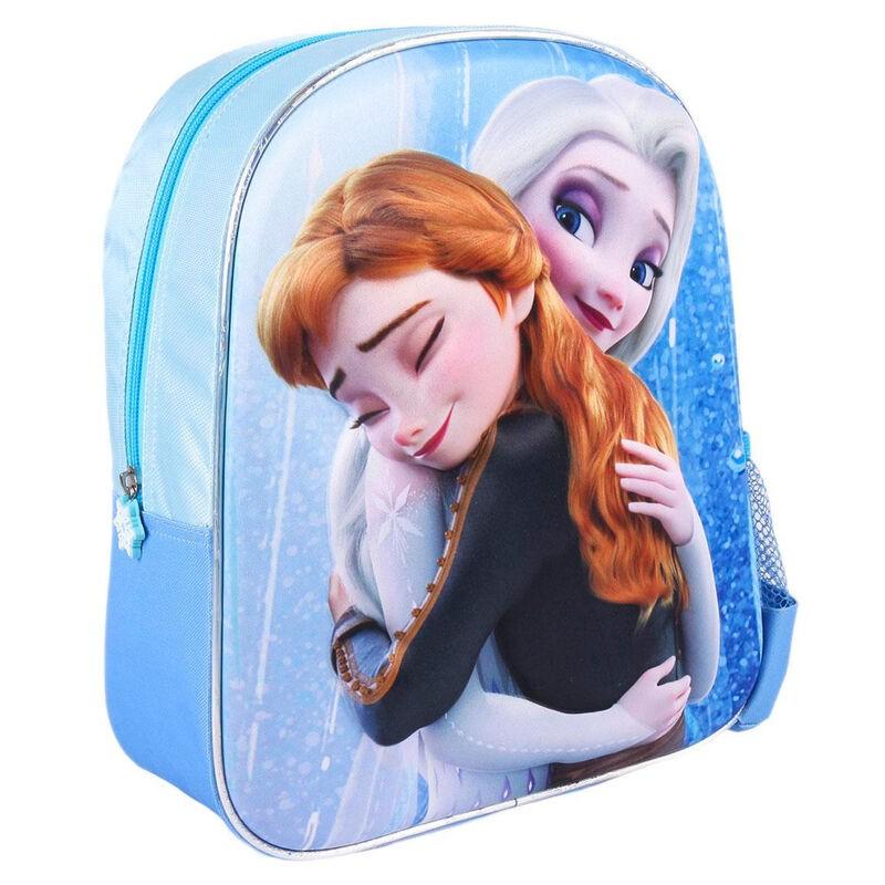 Mochila 3D Frozen 2 Disney 31cm abrazo la casita de dumbo