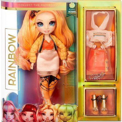 Rainbow High FashionPoppy Rowan NARANJA LA CASITA DE DUMBO